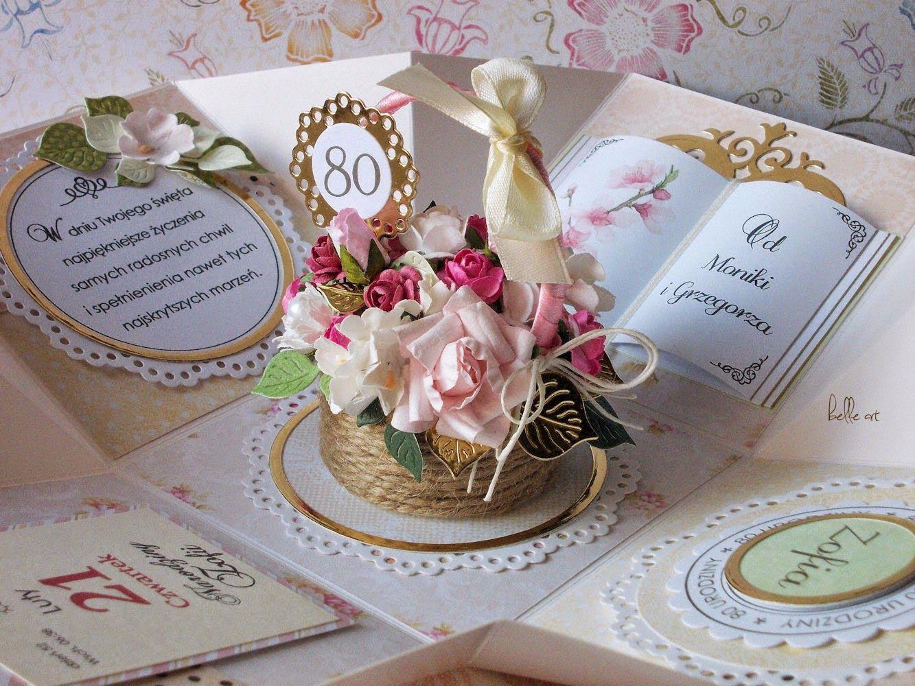 Kartka Na 80 Urodziny 80 Urodziny Urodziny