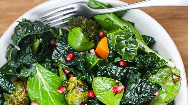 Photo of Roasted Winter Vegetable Salad