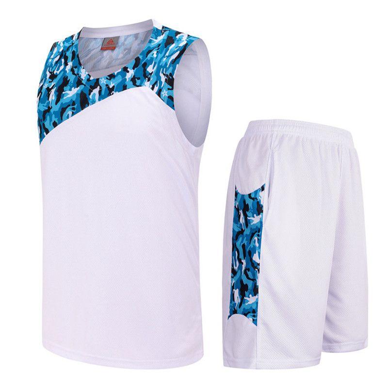2017 New Men Youth Basketball Jersey Sets Uniforms Breathable throwback  Sport jerseys basketball Shorts DIY Printing