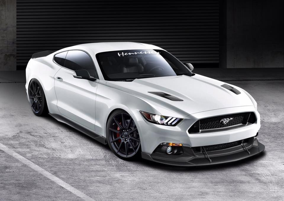 hennesseys 717 hp 2015 ford mustang gt 95 octane - Ford Mustang Gt 2015 White