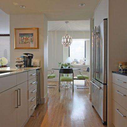Open Wall Into Family Room  Home Decor  Pinterest  Galley Pleasing Small Corridor Kitchen Design Ideas Design Ideas