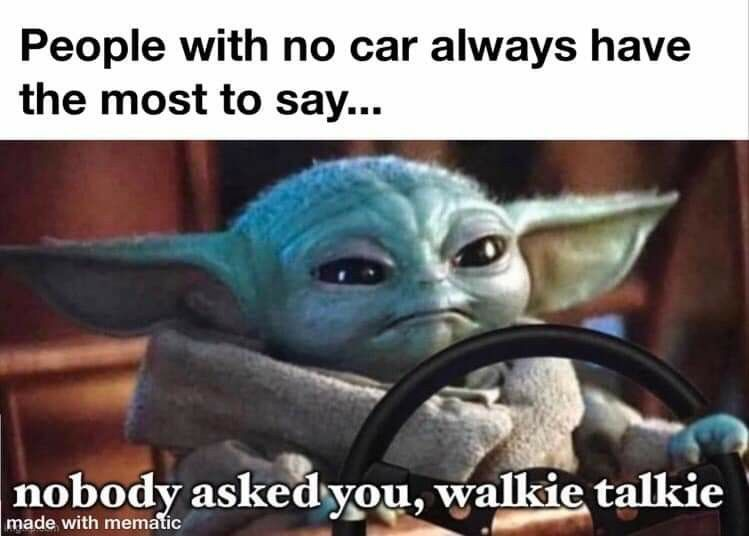 Pin By Emily Rusher On Baby Yoda Yoda Funny Yoda Meme Memes