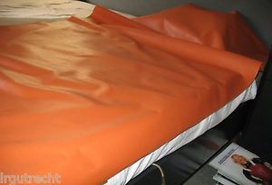 Hospital red rubber sheeting mackintosh rubber bed sheet no