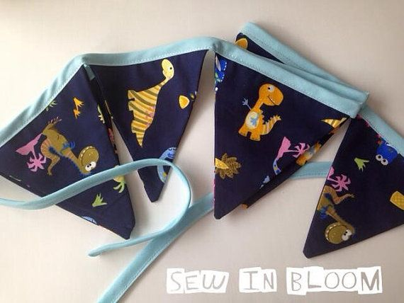 Hey, I found this really awesome Etsy listing at https://www.etsy.com/listing/219743317/really-cute-dinosaur-fabric-bunting