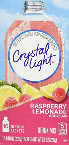 Crystal Light On The Go Drink Mix Raspberry Lemonade 10 Count Continue With The Details At The Image Link Raspberry Lemonade Raspberry Lemonade Drink