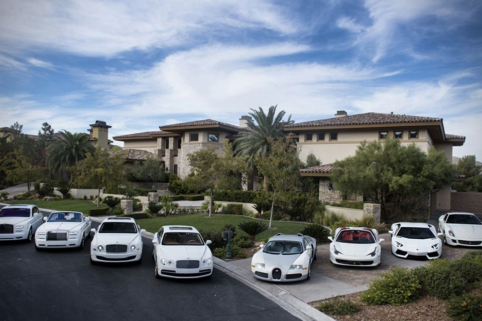 Floyd Mayweathers White Car Collection The Dual Bentley Dual