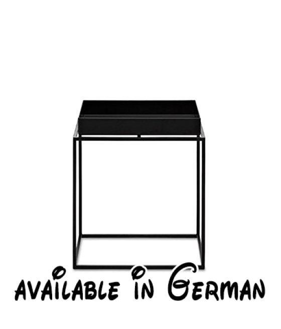 B00fzjn3ms Tray Table Beistelltisch Schwarz Small 30 X 30 Cm