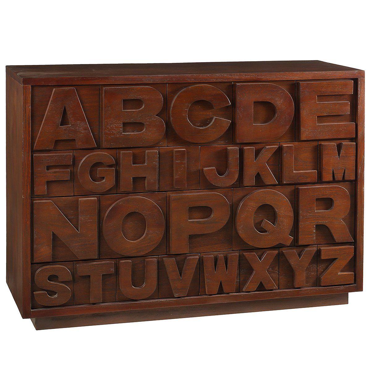 Size48 Wde X 34 Deep X 17 Price 596 00 Mahogany Alphabet Novelty Sign