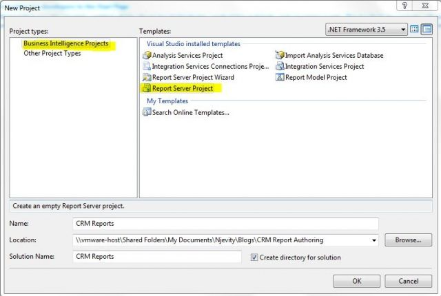 Creating Dynamics CRM 2011 Reports in SQL Reporting Services with ...