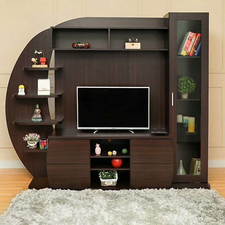 Salvabrani furniture tv unit furniture tv wall - Wall showcase designs for living room ...