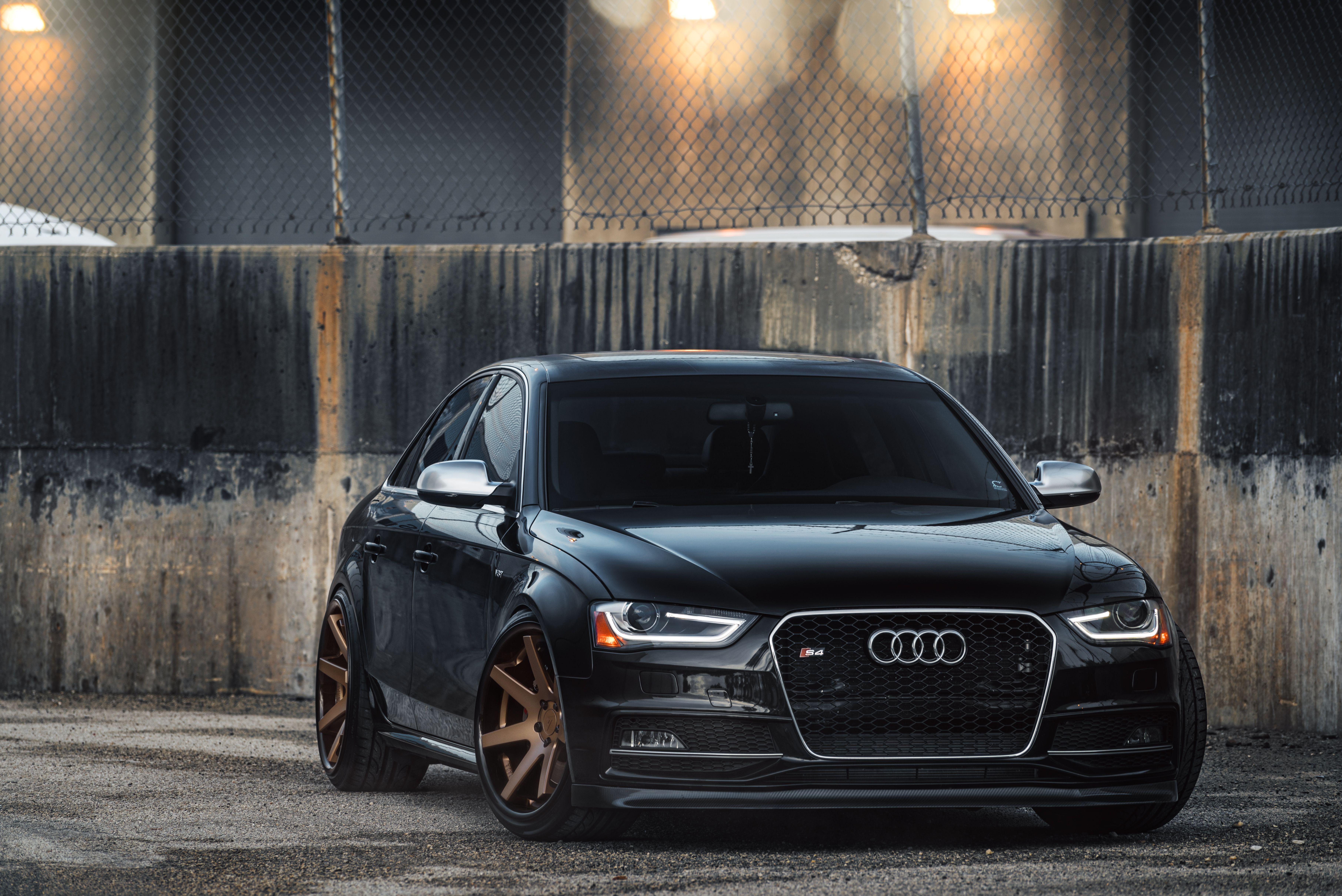 Audi S4 on Bronze Ferrada FR1 Ferrada Wheels