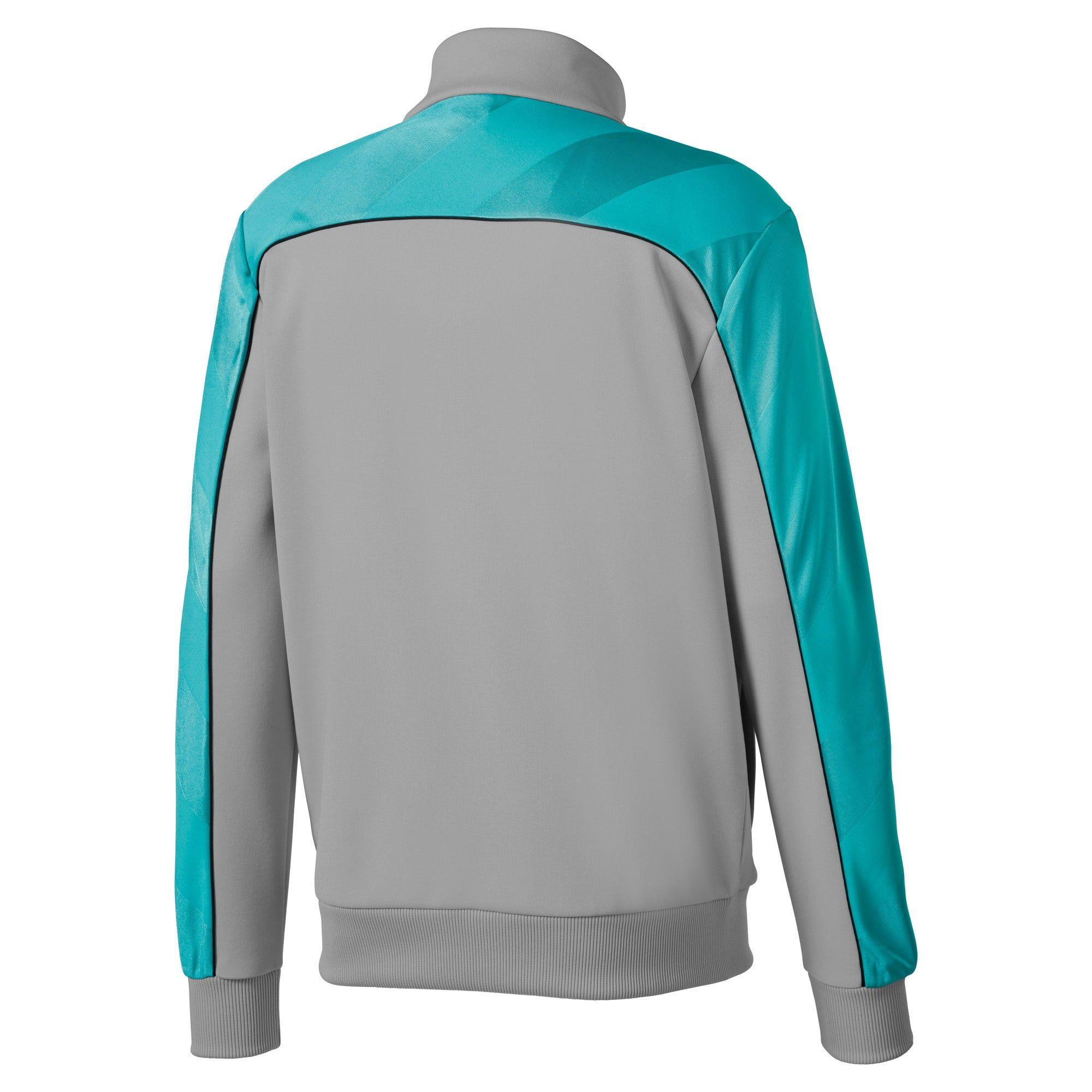 PUMA Mercedes Amg Petronas Men's Track Jacket, Silver, size X Small, Clothing