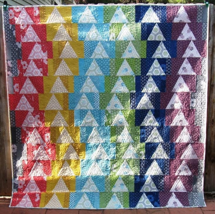 (7) Name: 'Quilting : The Way The Crow Flies - 4 sizes