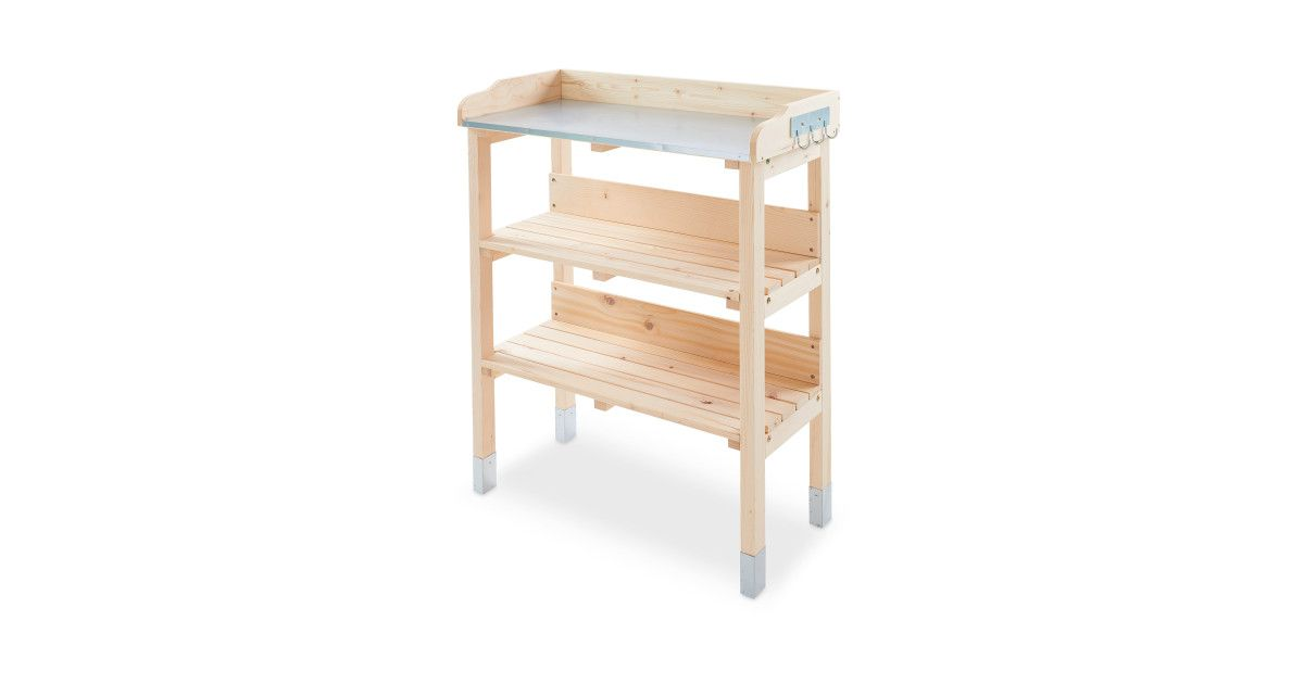 Gardenline Potting Bench Natural | TDHouse - garden