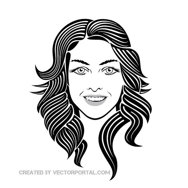 Girl Smiley Face Image Free Vector Smiley Face Images Vector Free Smiley Face