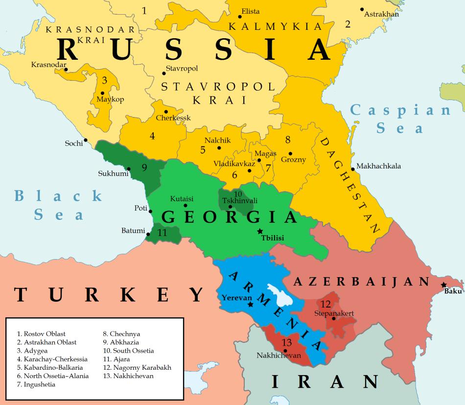 Why Are White People Called Caucasian? | Caucasus, Iberia, Armenia ...