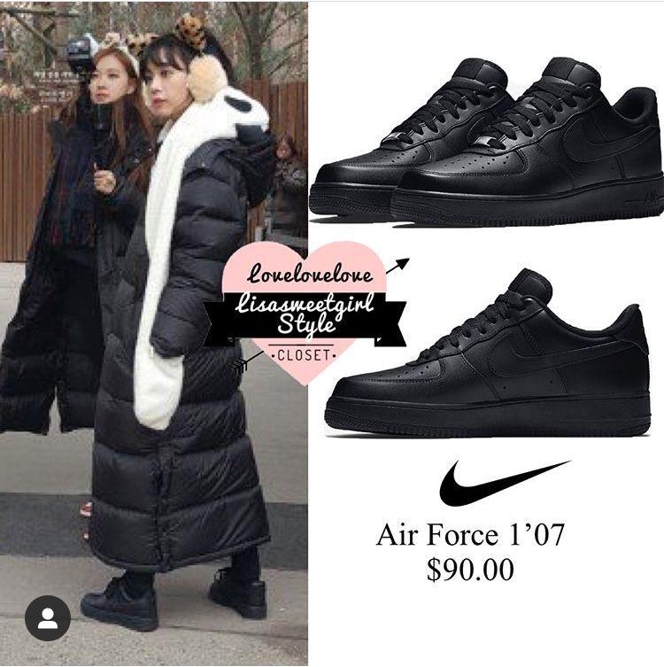 lisa blackpink sneakers