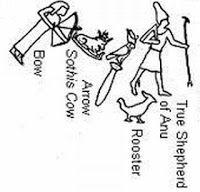 The True(man) Shepherd of Anu...aka Orion/Osiris from the dendera ...