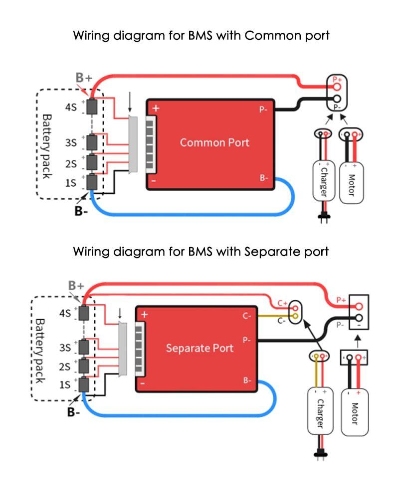 Deligreen Bms 4s 12v 80a 100a 120a 200a Pcb Bms For 3 2v Lifepo4 Battery Pack Battery Pack Lithium Battery Battery
