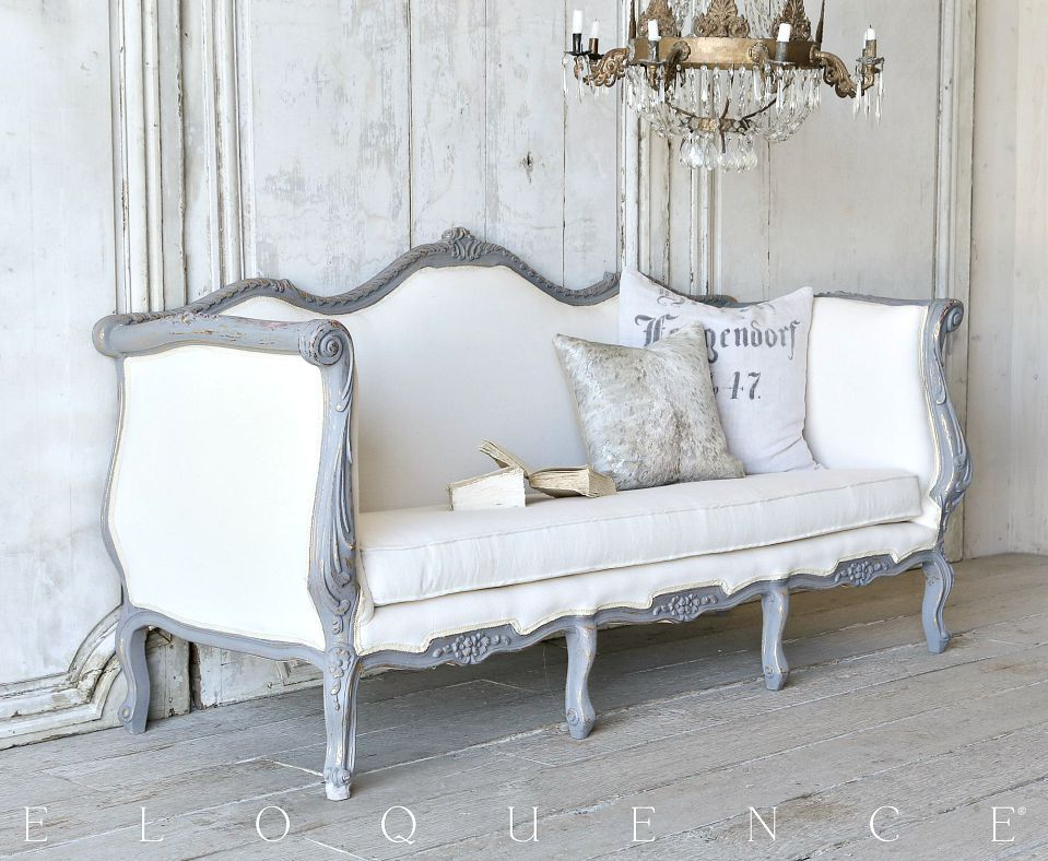 Attrayant One Of A Kind Vintage Louis XV French Style Daybed Sofa