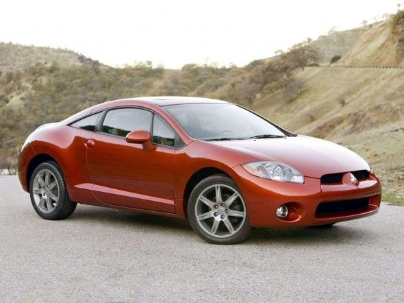 Mitsubishi Eclipse Gt V6 2006 Is A Two Door Four Seat Sports