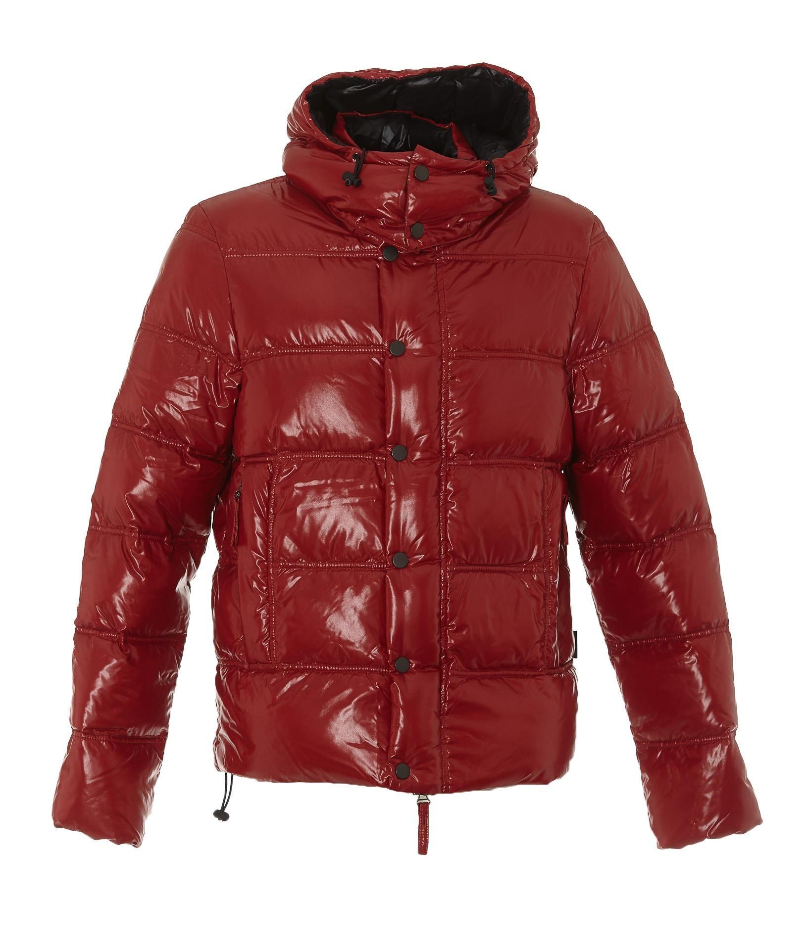 DUVETICA 亮面连帽羽绒服. #duvetica #cloth | Winter jackets