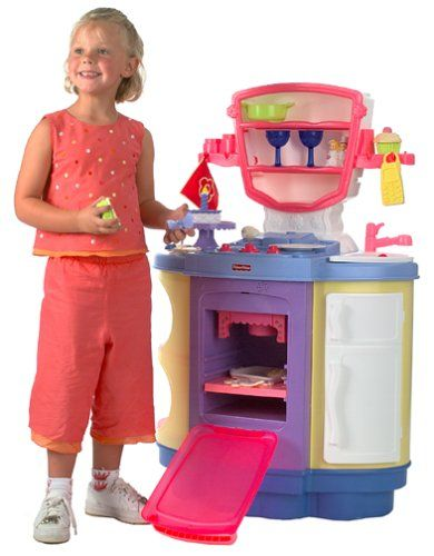 Fisher Price Kitchen   From Http://pinterest.com/stgib/