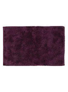george home 100 egyptian cotton bath mat aubergine bath mats rh pinterest com