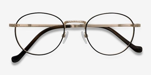 b5c310567567 Mingus Black Golden Metal Eyeglasses from EyeBuyDirect. Discover  exceptional style, quality, and price. This frame is a great addition to  any collection.