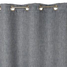 rideau occultant barcelona gris 140 x 240 cm rideaux pinterest rideau occultant gris et. Black Bedroom Furniture Sets. Home Design Ideas
