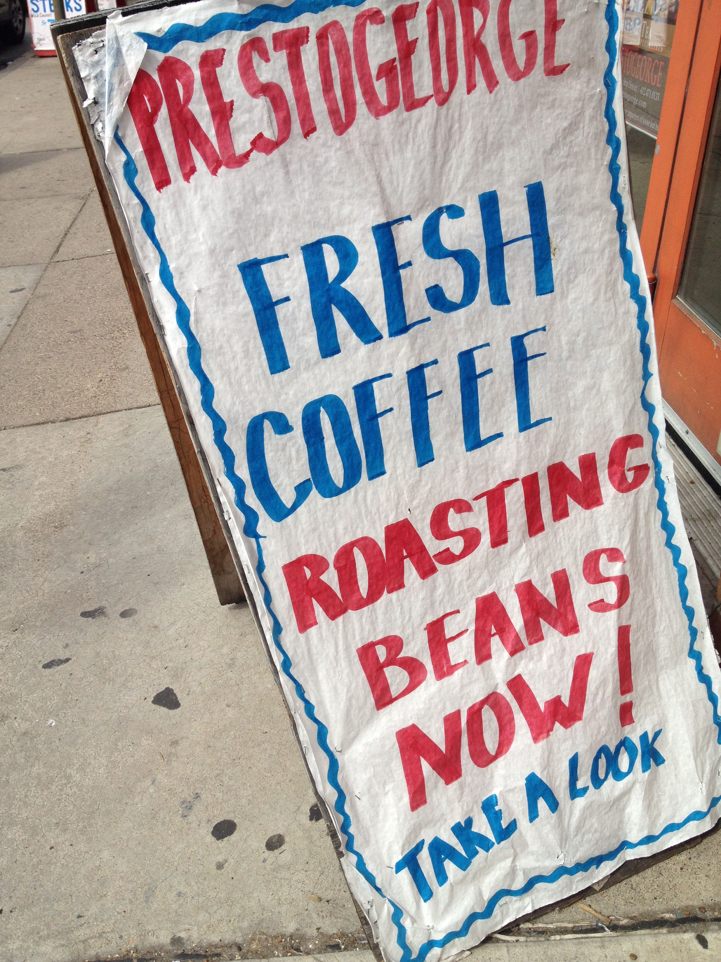 Presto George Fresh Coffee My Coffee Coffee Roasting