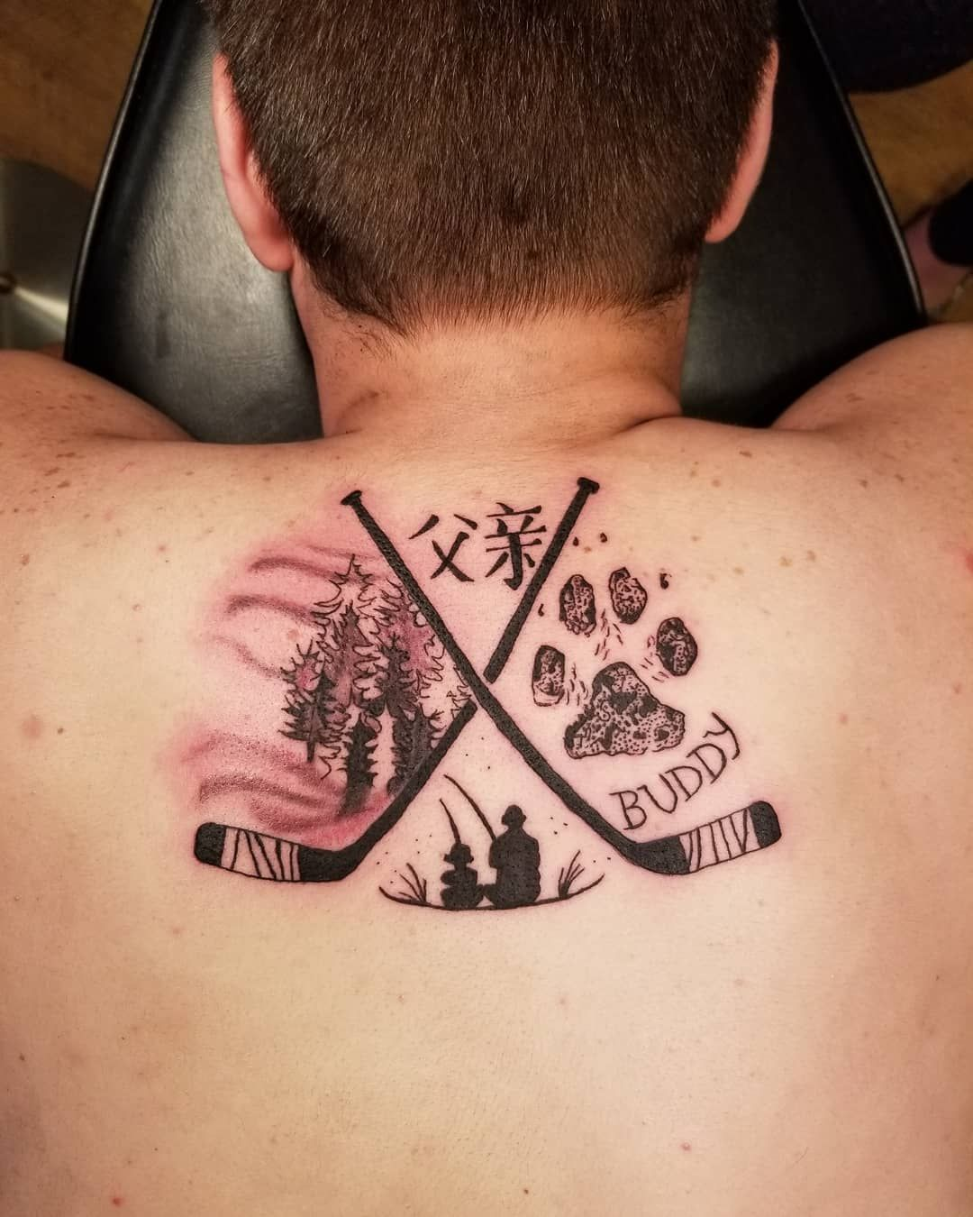 New Tattoo That Something So Small And Simple Can Be So Beautiful Hockey Hockeyfan Hockeylove Small Tattoos Hairstylist Tattoos Hockey Tattoo