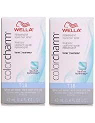 Wella Color Charm #T18 Lightest Ash Blonde 1.4 Ounce Pack Of 2