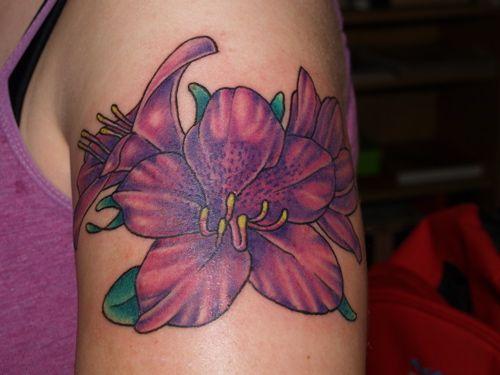 Azalea Tattoo Flower Tattoo Tattoos Floral Tattoo