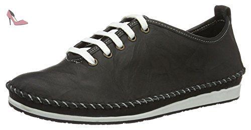 Andrea Conti 0027400, Sneakers Basses FemmeNoirSchwarz (Schwarz), 39 EU