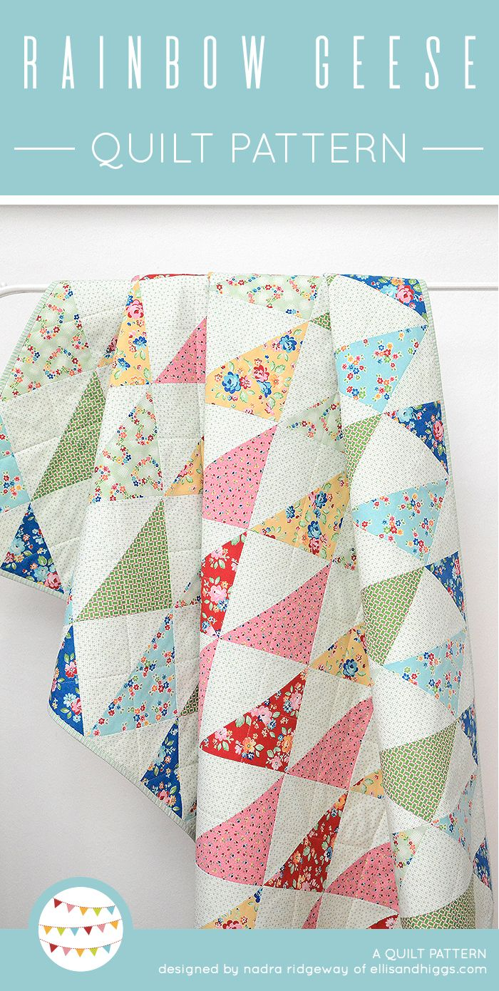 New Quilt Patterns - Neue Quilt-Schnittmuster | Half square ...