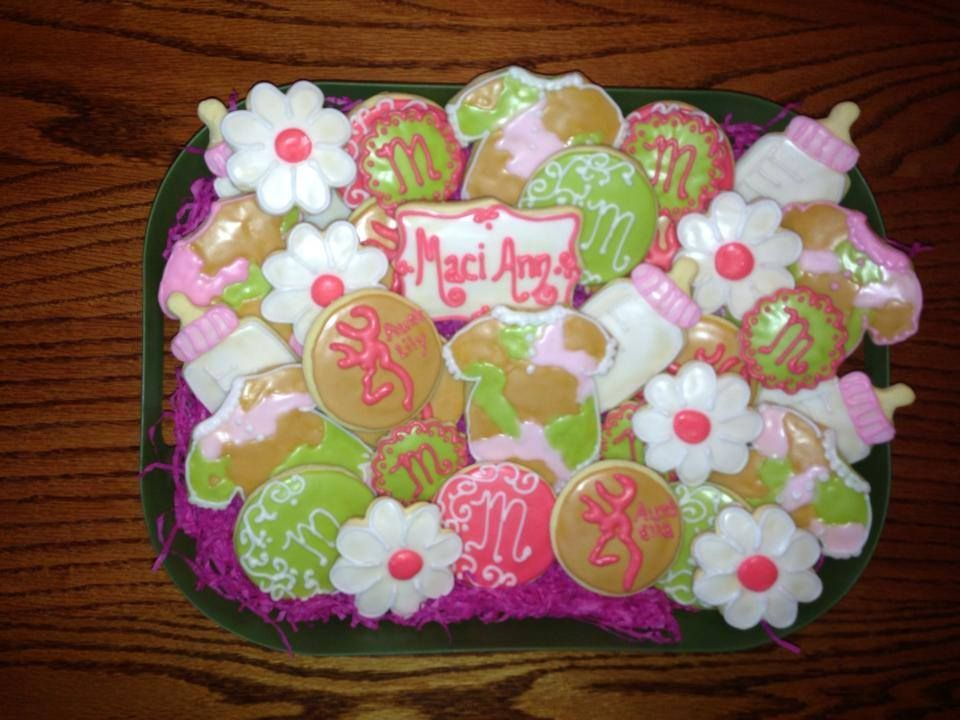 pink camo baby shower baby shower pinterest