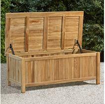 Teak Storage Box Products Furniture Outdoor Storage