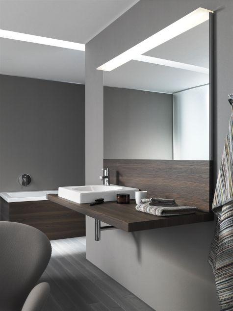 Bathroom Furniture Duravit Spiegel Mit Beleuchtung Moderne