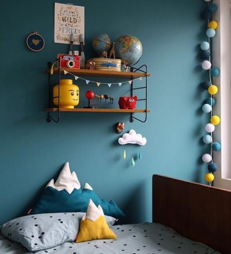 Kids Room Color Schemes: Farrow And Ball Vardo - Ernest Bedroom