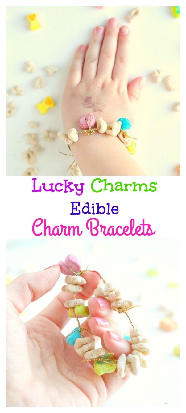 Lucky Charms Edible Charm Bracelets - Val Event Gal