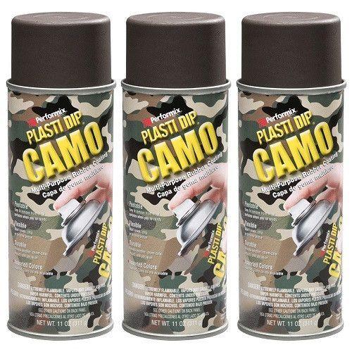 Rubber Coating Aerosol Brown Camo Plasti Dip 11216