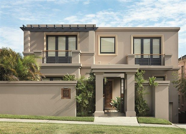 Classic home exterior colours google search gates - House colours exterior australia ...