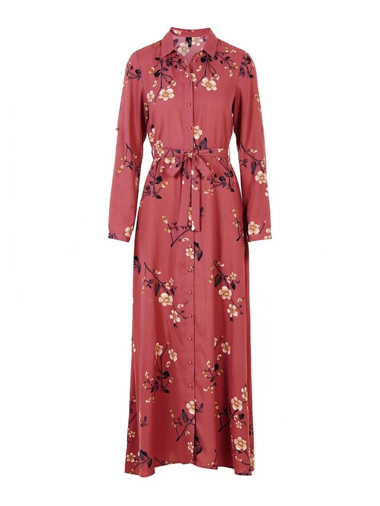 Vero Moda Maxikleid Damen Altrosa Grosse 34 Maxikleid Damen Kleider Kleid Mit Armel