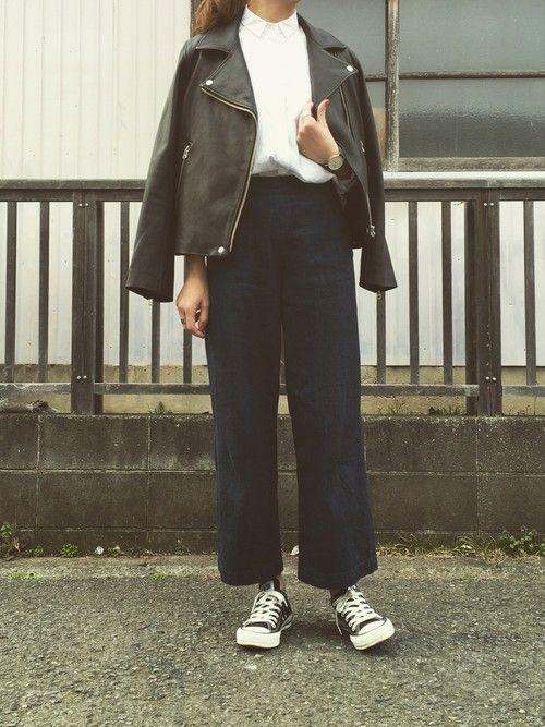 maiko_0219_|BLACK BY MOUSSYのデニムパンツを使ったコーディネート - WEAR