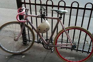 Love this bike cozy. #Melbourne #Australia
