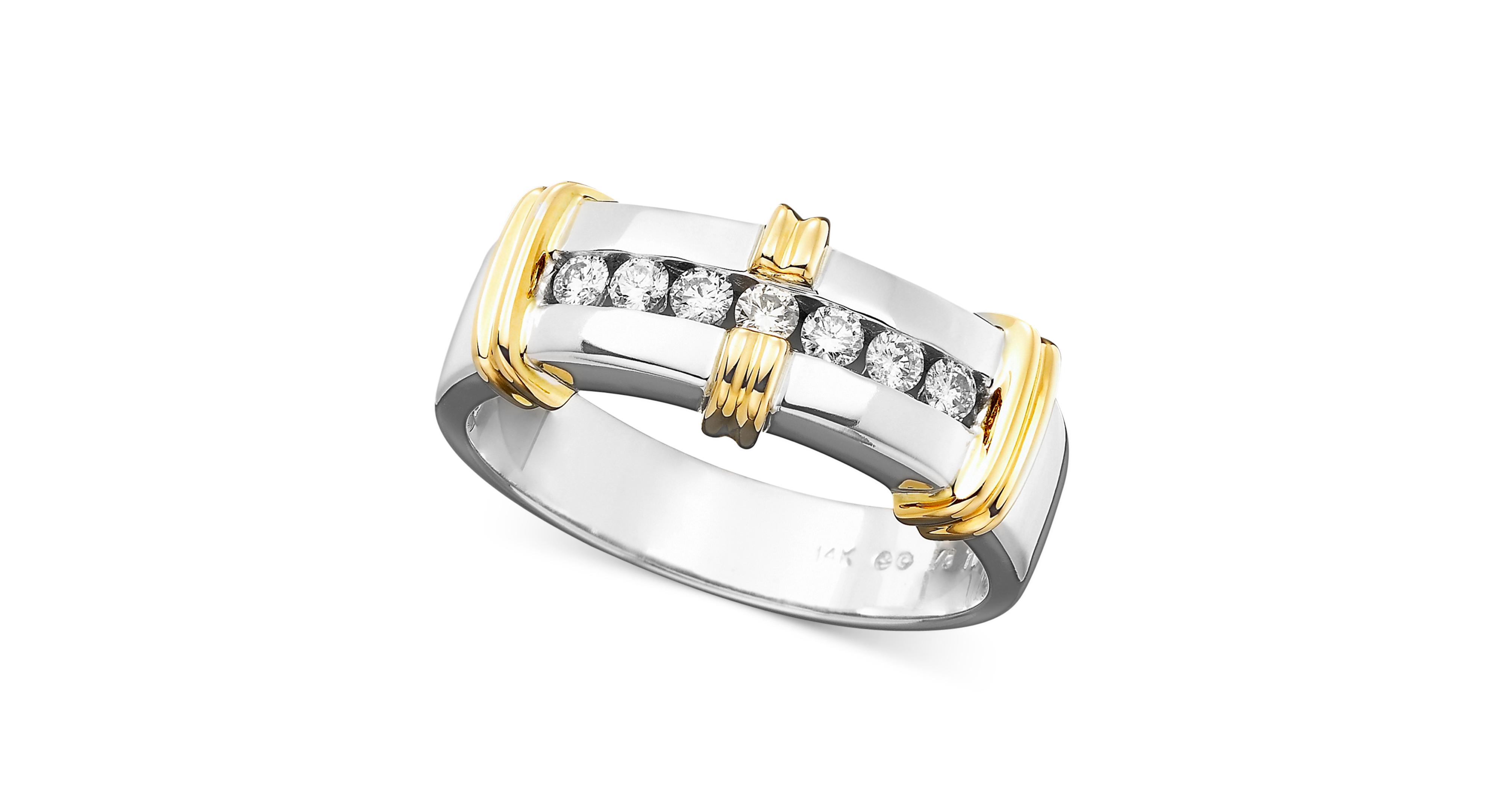 Men's Diamond Ring in 14k Gold (1/3 ct. tw.)