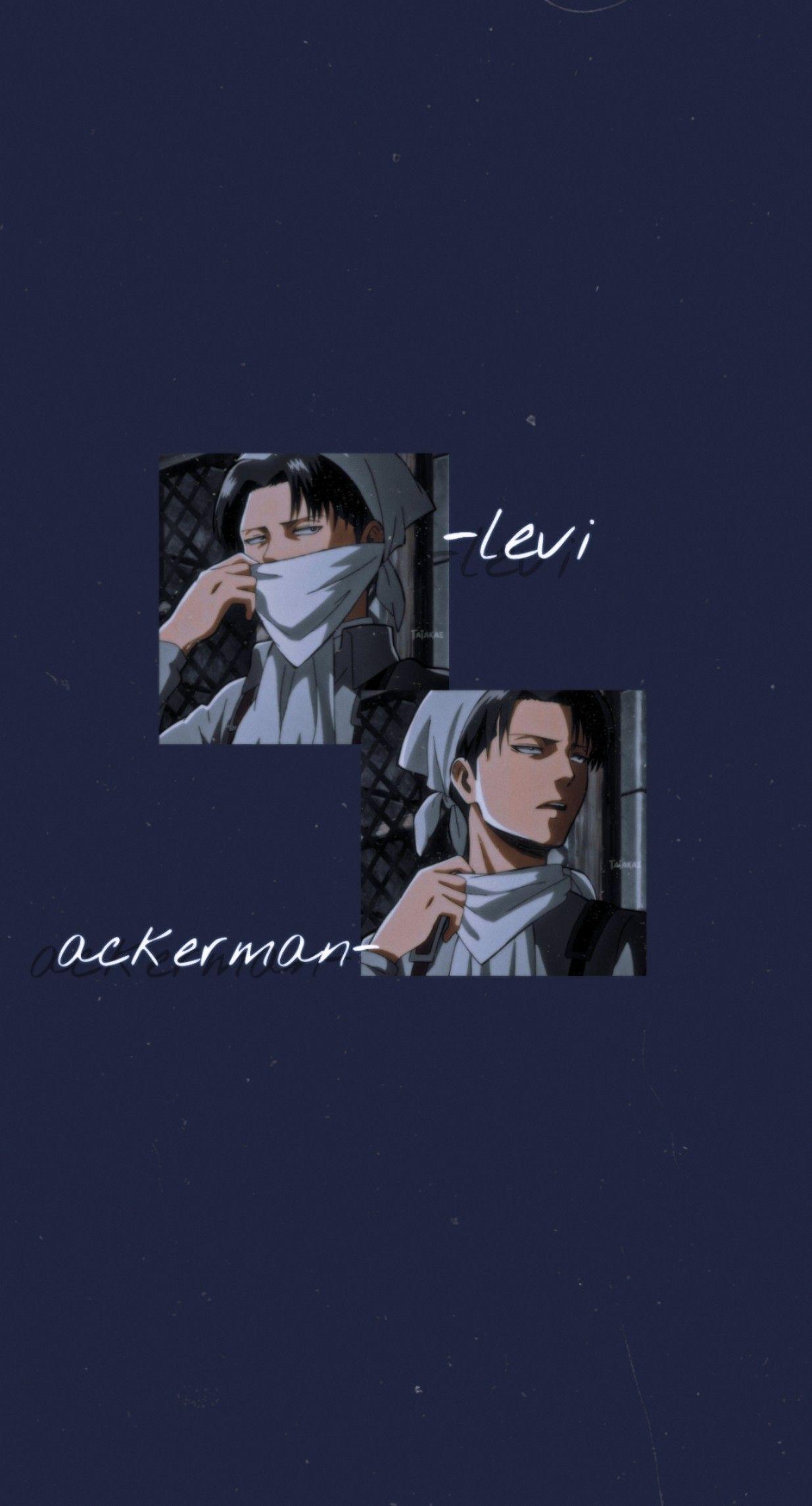 Levi Ackerman In 2020 Anime Boyfriend Attack On Titan Levi Cute Anime Wallpaper