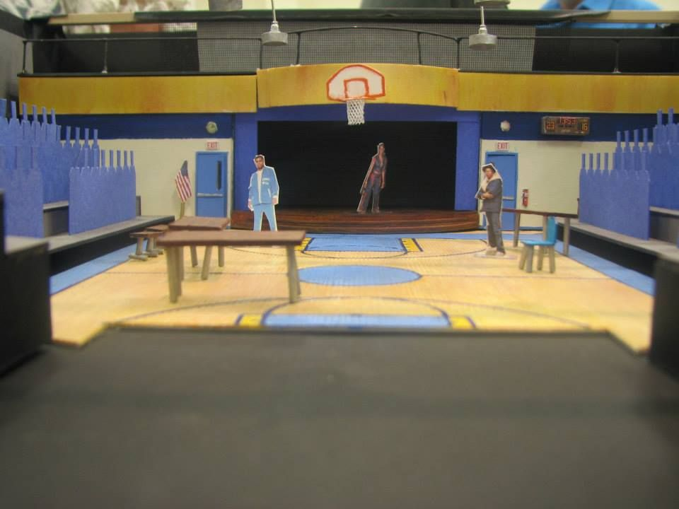 "Set design for ""How We Got On"" at the Meet and Greet on September 30, 2014 — at Cleveland Play House."