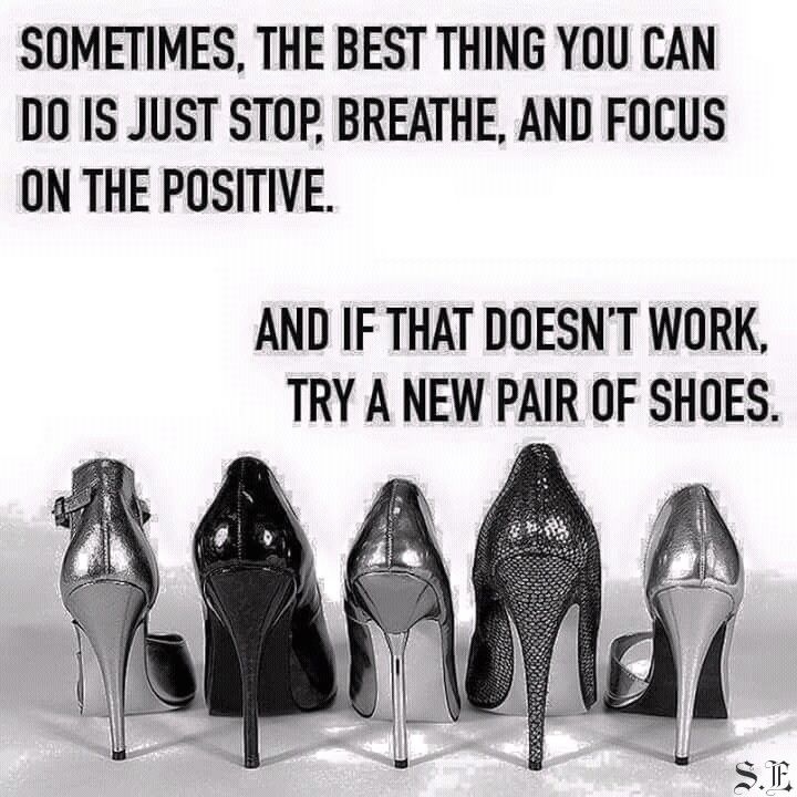 A new pair of shoes INSPIRED ♡ Pinterest Wisdom